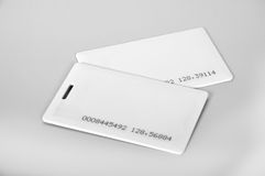 RFID-Karten Lizenzfreies Stockfoto