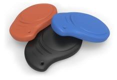 RFID keychain tag Stock Image