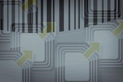 RFID Marke Lizenzfreie Stockbilder