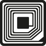 RFID symbol vector stock illustration