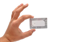 RFID tag Royalty Free Stock Image