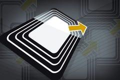 RFID Tag Royalty Free Stock Image