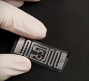 Rfid tags Royalty Free Stock Photography
