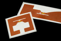 RFID tags Stock Images