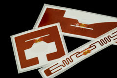 RFID tags Stock Photos