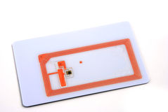 RFID tags. Stock pictures of several types of rfid tags and transponders Royalty Free Stock Image
