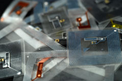 RFID tags Royalty Free Stock Image