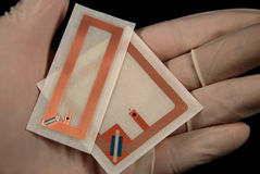 Rfid tags Stock Photography