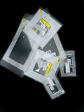 RFID tags. Tags used for RFID purposes Royalty Free Stock Image