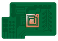 RFID technology Royalty Free Stock Images