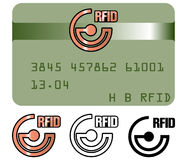 RFID technology Royalty Free Stock Photos