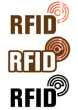 RFID technology Stock Image