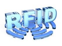 RFID technology sign Stock Photo