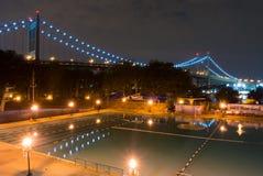 RFK-Brug en Astoria-Park Royalty-vrije Stock Afbeeldingen