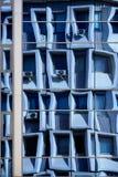 Réflexion bleue Photographie stock libre de droits