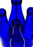 Réflexions de bouteille Photos libres de droits