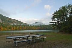 réflexions de lac d'écho Images libres de droits