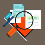 RFP Request for propossal. Proposal flat icon illustration Stock Photos
