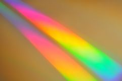 Réfraction de lumière Photo libre de droits