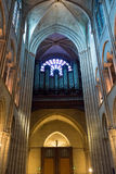 Оrgan in the Notre Dame de Paris. France Stock Photos