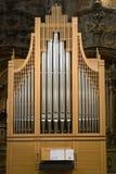 Órgano de la iglesia cristiana Fotografía de archivo