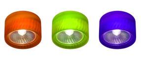 RGB λαμπτήρας Στοκ Εικόνες