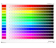 rgb πίνακας χρώματος Στοκ φωτογραφίες με δικαίωμα ελεύθερης χρήσης
