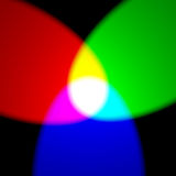 RGB πρότυπο χρώματος Στοκ Εικόνες