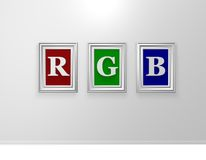Rgb Royalty Free Stock Photo