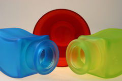 RGB. Glass Royalty Free Stock Photo