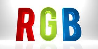 RGB Royalty Free Stock Photo