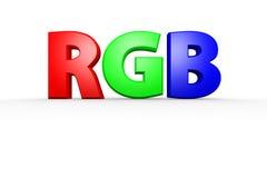 RGB 免版税库存图片