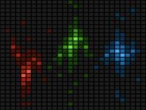 RGB abstracte achtergrond royalty-vrije illustratie