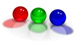 RGB balls image Royalty Free Stock Image