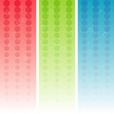 RGB banners  Royalty Free Stock Images