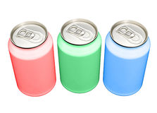 RGB cans Stock Photo