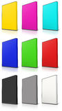 RGB and CMYK DVD Case Royalty Free Stock Image