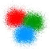 RGB color Stock Image