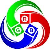 RGB colour Stock Image