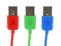 RGB concept Stock Images