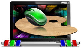 RGB Creativiteit van de Computer Royalty-vrije Stock Afbeelding