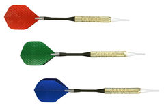 RGB darts Royalty Free Stock Photography