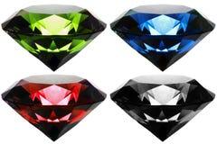 Rgb-diamant Arkivfoto