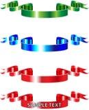 Rgb-Farbbänder Stockbilder