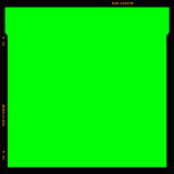 RGB Film strip frame. Film strip frame in green (RGB) theme Royalty Free Stock Photos