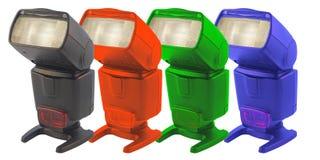 RGB Flashes Royalty Free Stock Image