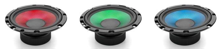 RGB geluid stock illustratie