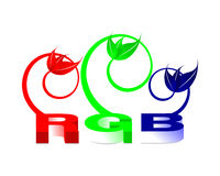 RGB Illustration 01. High resolution Image included. All elements, textures, etc. are individual objects.No flattened transparencies Royalty Free Stock Photos