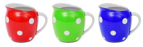 RGB jug. Isolated on white background Royalty Free Stock Photos