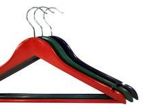 RGB Kleidungaufhängungen Lizenzfreie Stockfotografie